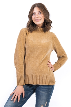Sebtemper Sweater Camel/ Capri Collection